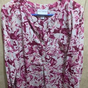 Purple blouse 1x